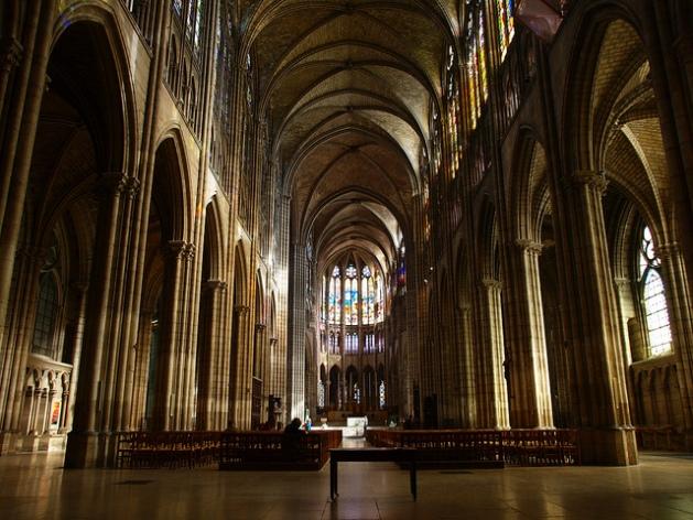 Paris-Saint-Denis-Cathedral-Interior