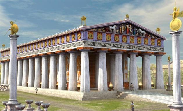 temple-de-zeus-olympie